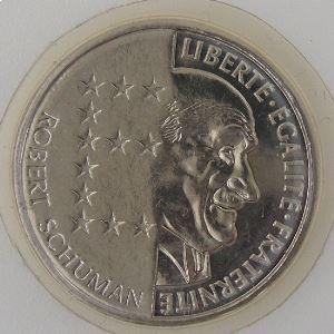 France, 10 Francs 1986, Schuman, FDC, KM#958