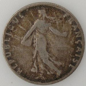France, 50 Centimes 1911, TB, KM#854