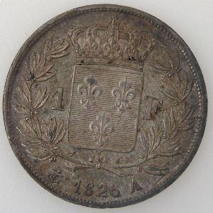 France, Charles X, 1 Franc 1826 A