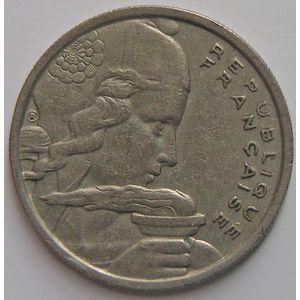 France, Cochet, 100 francs 1958 Chouette, TTB, KM # 919.1