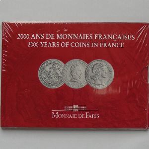 France , Coffret Brillant Universel 2000 Volume II/III