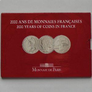 France , Coffret Brillant Universel 2000 Volume III/III