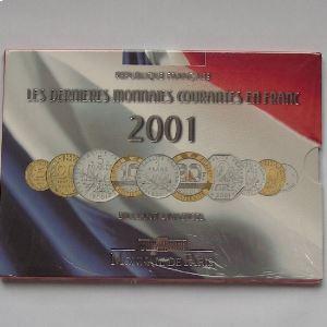 France, Coffret Brillant Universel 2001