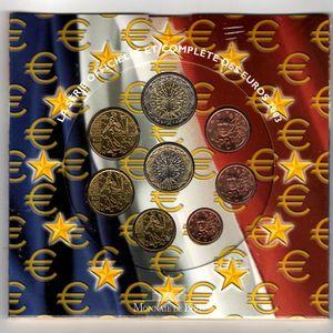 France, Coffret BU 2003