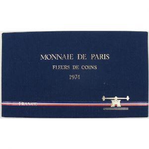 France coffret FDC 1974 , Tranche B