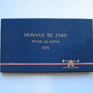 France coffret FDC 1976