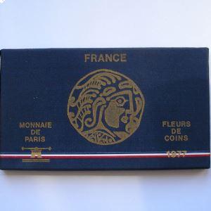 France coffret FDC 1977