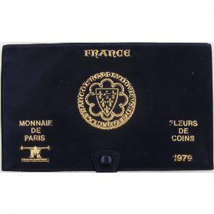 France coffret FDC 1979, Tranche A