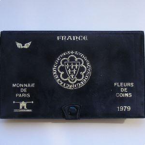 France coffret FDC 1979 avec ailes