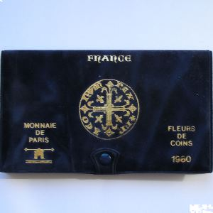 France coffret FDC 1980