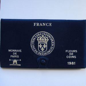 France coffret FDC 1981