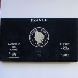 France coffret FDC 1983