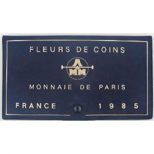 France coffret FDC 1985, Tranche A