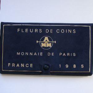 France coffret FDC 1985
