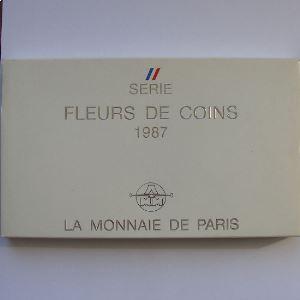 France coffret FDC 1987