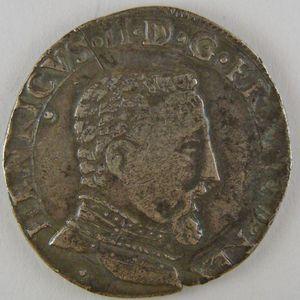 France, François II, Teston 1560, TTB, Dup:1031