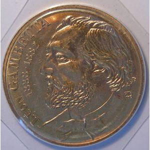France, Gambetta, 10 Francs 1982 FDC, KM# 950