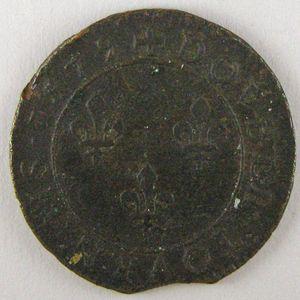 France, Henri III, Double tournois 1579 A, TB/TB+, Dup:1152