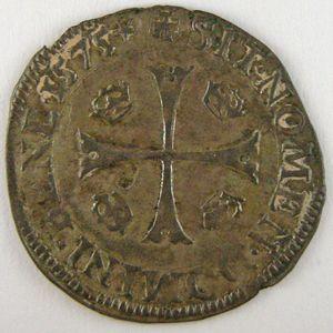 France, Henri III, Douzain 1575 G, TTB, Dup:1140