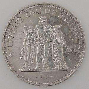 France, Hercule, 50 Francs 1974, TTB, KM# 941.2