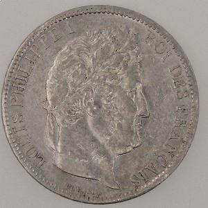France, Louis-Philippe I, 5 Francs 1831 M, TTB, KM# 744.5