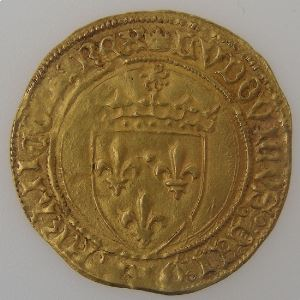 France, Louis XII (1498-1514), écu d'or au soleil, Rouen