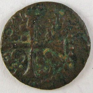 France, Louis XIII, Denier 1642 , Dup:1406, TB+