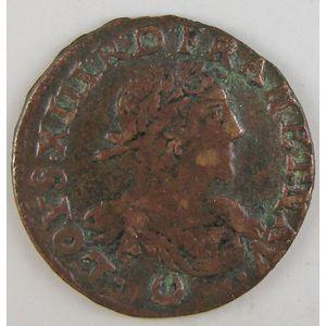 France, Louis XIII, Double tournois 1639, TB+, Gad: 11