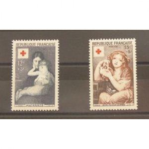 FRANCE  N° 1006/7  N** Cote 30€