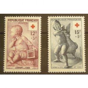 FRANCE n°1048-1049 N**  Cote 16.50€
