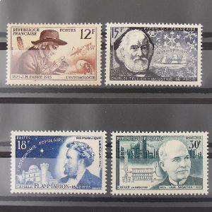 FRANCE n°1055-1058 N** Cote 10.50€