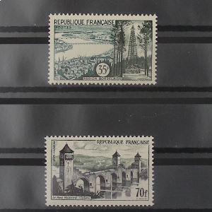 FRANCE n°1118-1119 N** Cote 28.60€