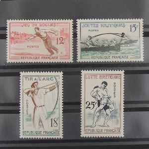 FRANCE n°1161-1164 N** Cote 10€