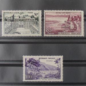FRANCE n°1192-1194 N** Cote 44.90€