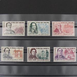 FRANCE n°1295-1300 N** Cote 19€