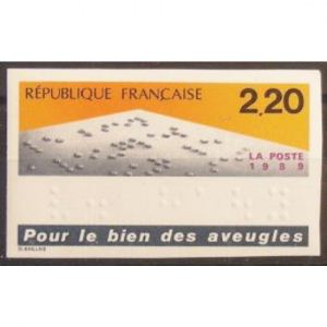 FRANCE n°2562 non dentelé N**  Cote 23€
