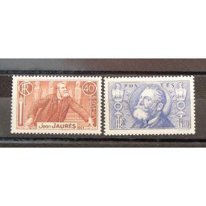 FRANCE n°318-319 N** Cote 49€