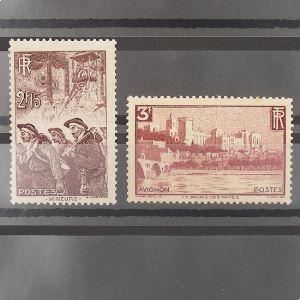 FRANCE n°390 et 391  N** Cote 46€