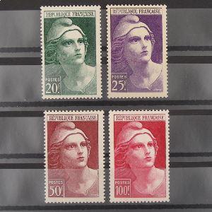 FRANCE n°730-733 N** Cote 21.50€