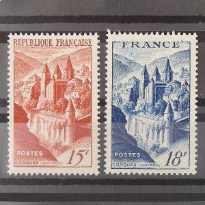 FRANCE n°792 et 805 N** Cote 10.70€
