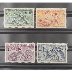 FRANCE n°859-862 N** Cote 13€