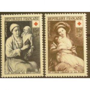 FRANCE n°966-967 N**  Cote 23.50€
