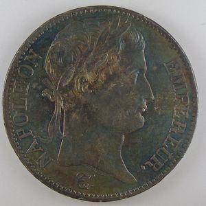 France, Napoléon 1er, 5 Francs 1810 B, SUP, KM# 694.2