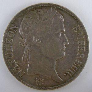 France, Napoleon I, 5 Francs 1811 U, KM# 694.15, TB+/TTB
