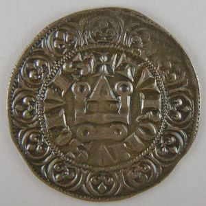 France, Philippe IV, gros tournois à l'O long, Dup: 214, TTB