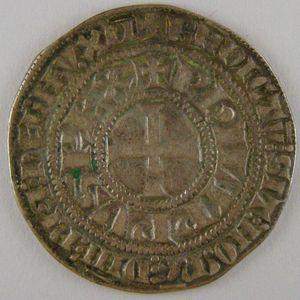 France, Philippe IV, gros tournois à l'O rond, Dup: 213, TB+