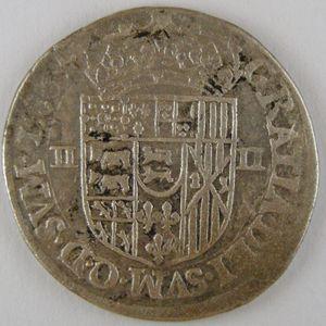 France, Seigneurie de Béarn, Henri II, 1/4 Ecu du Béarn 1586, TB+, Bd:611