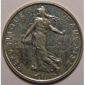 France, Semeuse, 1/2 Franc 1989 SUP+, KM# 931.1