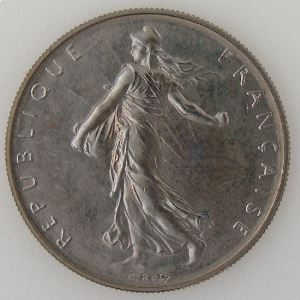 France, Semeuse, 1 Franc 1980, FDC, KM# 925.1