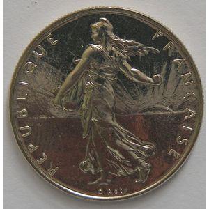 France, Semeuse, 1 Franc 1990 SPL, KM# 925.1